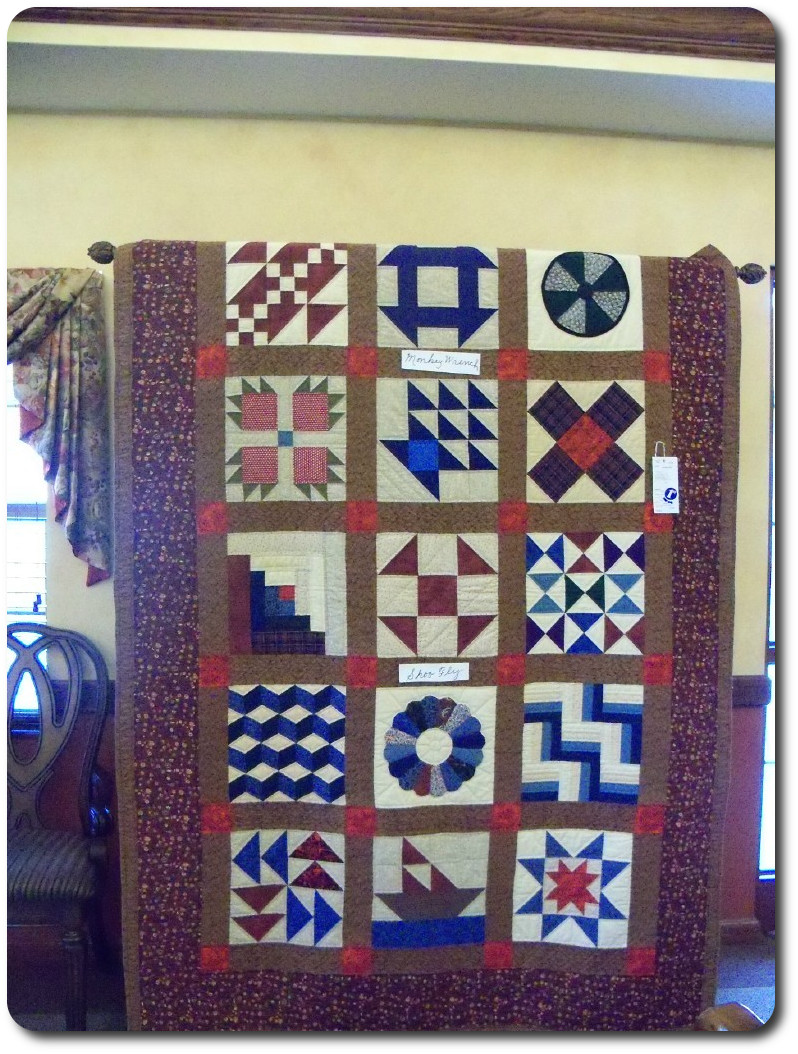 Underground Railroad quilt made by our resident.